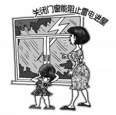 雷雨天气注意事项 - 京西时报